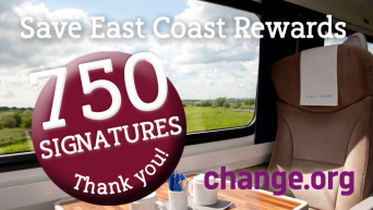 Save East Coast Rewards 750 signatures